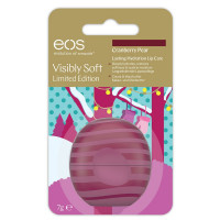 eos EOS Visibly Soft Lip Balm Cranberry Pear