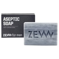 Zew for men Aseptic Soap with Colloidal Silver