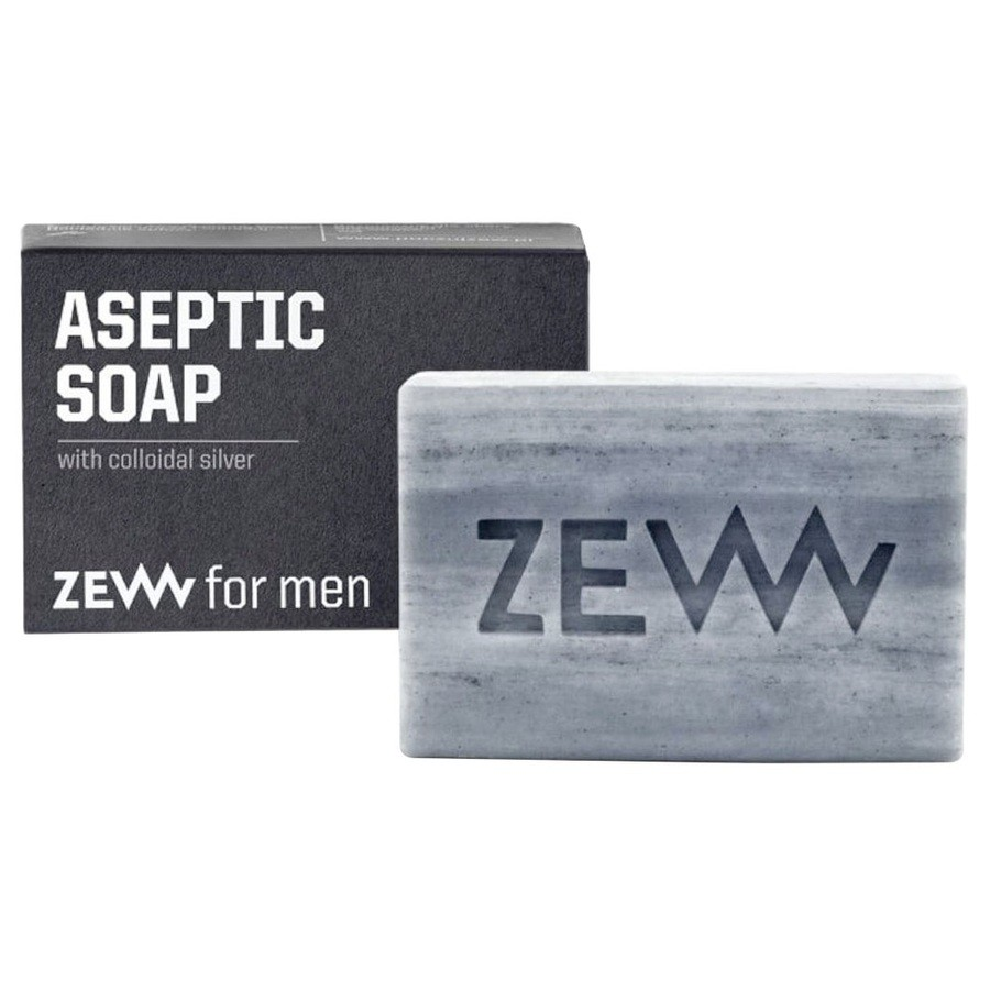 Zew for men Aseptic Soapwith Colloidal Silver