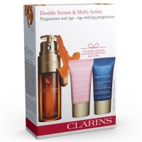 Clarins Double Serum & Multi Active Loyalty Gift Set