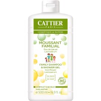 Cattier Family Shampoo & Shower Gel