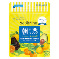 BCL Saborino 5 Morning Facial Sheet Masks Set