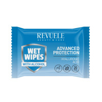 Revuele Wet Wipes Advanced Protection with Hyaluronic Acid
