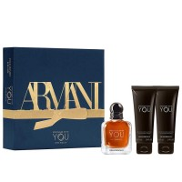 Armani Emporio Stronger With You Intensely Gift Set