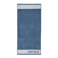 Douglas Trend Collection Hand Towel White Blue