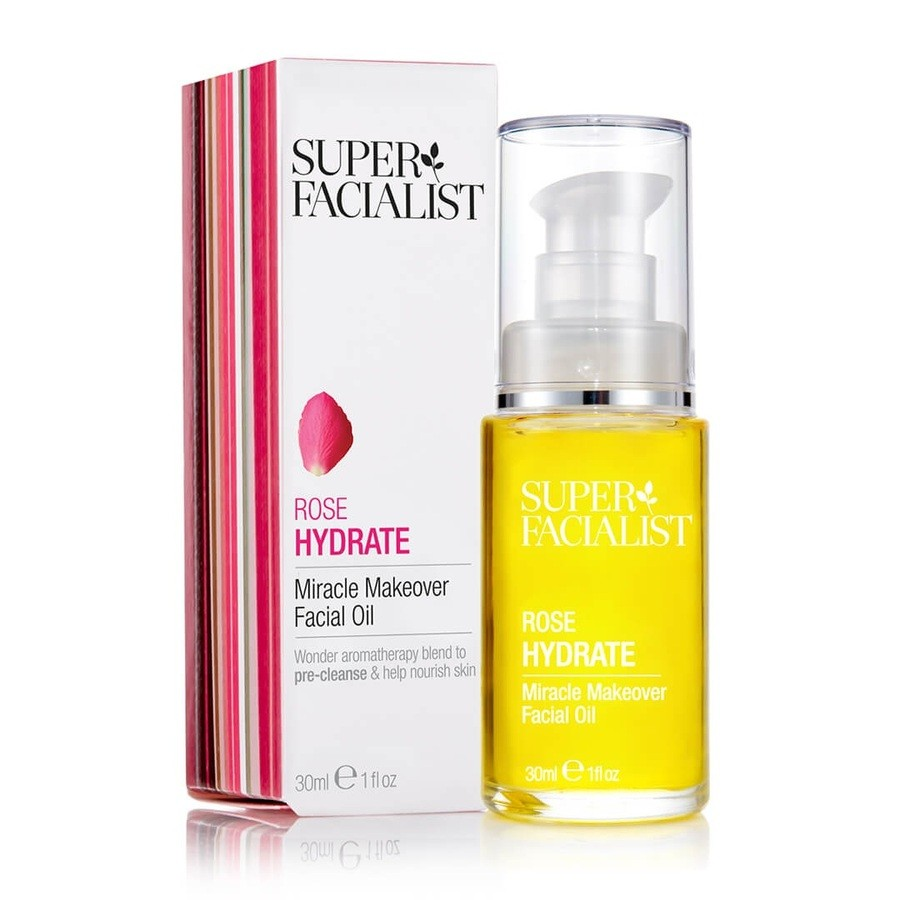 Super Facialist Rose Hydrate Miracle Makeover Facial Oil