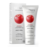 Mossa Peeling Mask With Cranberry Antioxidants + Alpha Hydroxy Acid