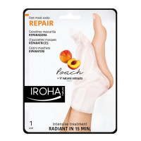 Iroha Foot Mask Socks Repairing -Peach