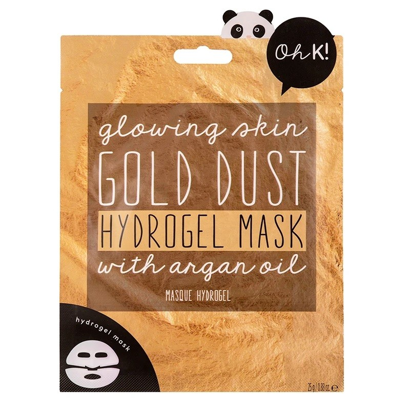 Oh K! Gold Dust Hydrogel Mask with Argan Oil