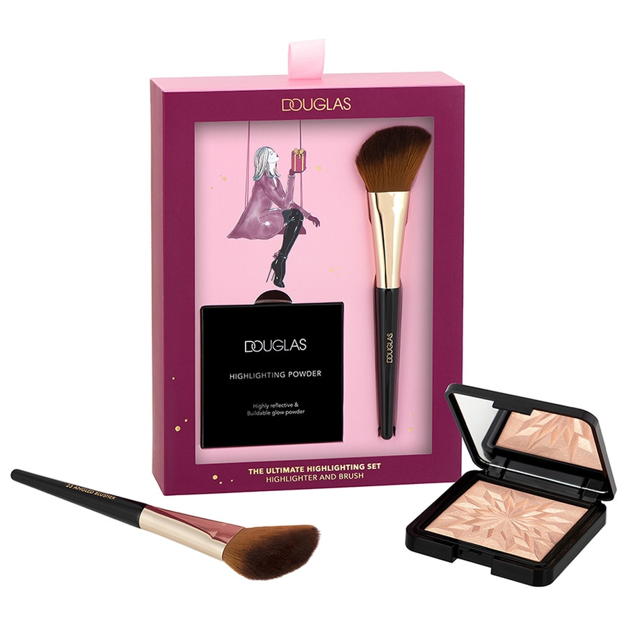 Douglas Make Up Highlighter + Brush Set1503