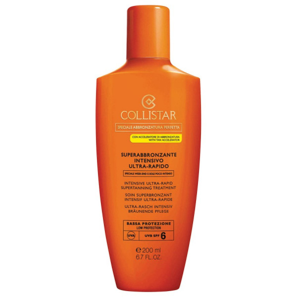 Collistar Ultra-Fast Intensive Super Tanning SPF 6