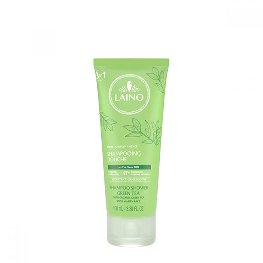 Laino 3in1 Shampoo with Green tea for face, body and hair