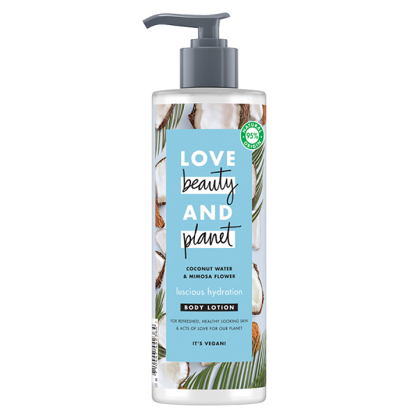 Love Beauty and Planet Coconut & Mimosa Body Lotion