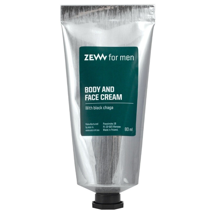 Zew for men Face and Body CreamwithBlackChaga