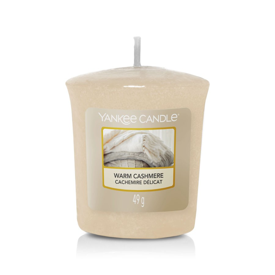Yankee Candle Scent Candle Votive Warm Cashmere