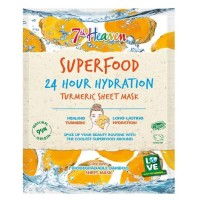7th Heaven 24H Hydration Sheet Mask Turmeric