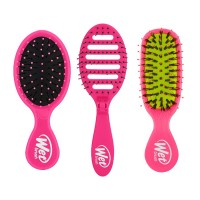 Wet Brush Travel Trio Brush Set Pink