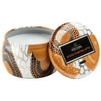 Voluspa Mini Tin Candle Spiced Pumpkin Latte