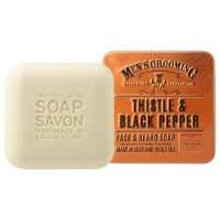 Scottish Fine Soaps Men's Grooming Thistle & Black Pepper Face & Beard Soap