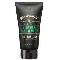 Scottish Fine Soaps Vetiver & Sandalwood Pre-Shave Scrub