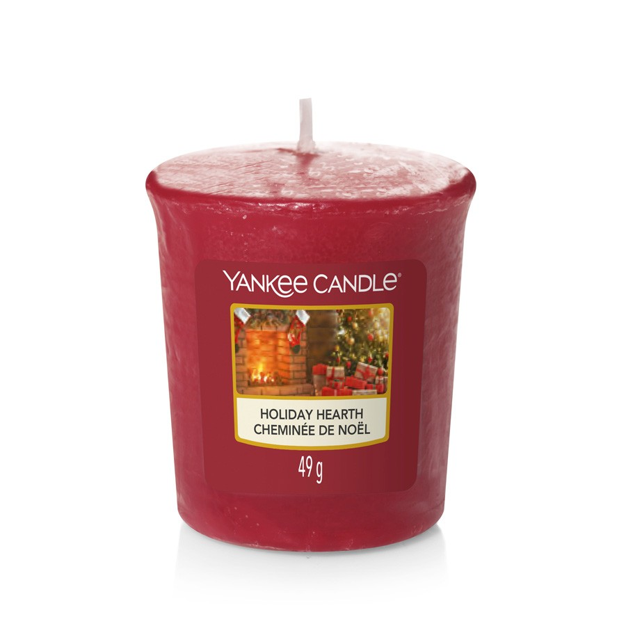 Yankee Candle Candle Votive Holiday Hearth