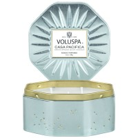 Voluspa Octagon Tin Candle Casa Pacifica