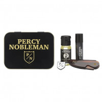Percy Nobleman  Beard Travel Tin Set