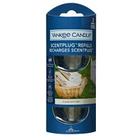 Yankee Candle 2 Scent Plug Refill Clean Cotton
