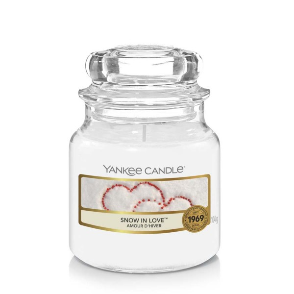 Yankee Candle Candle Jar Snow in Love