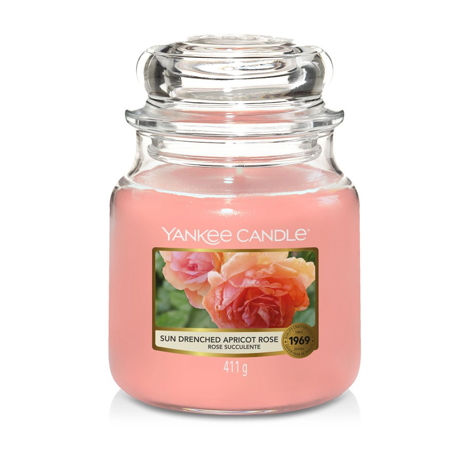 Yankee Candle Candle Jar Sun-Drenched Apricot Rose