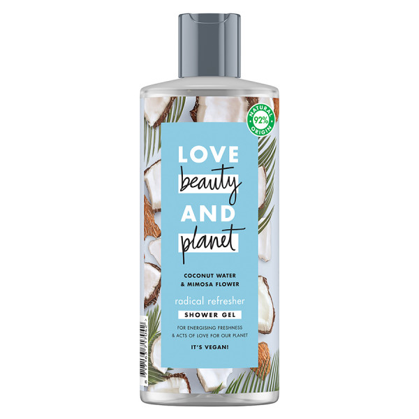 Love Beauty and Planet Coconut & Mimosa Flower Shower Gel