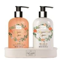 Scottish Fine Soaps Clementine Spiced Hand Care Gift Set