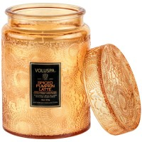 Voluspa Large Jar Candle Spiced Pumpkin Latte