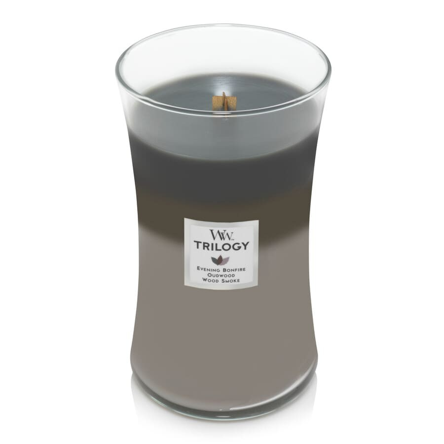 WoodWick Large Candle Jar Cozy Cabin