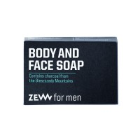 Zew for men Body and Face Soap with Charcoal