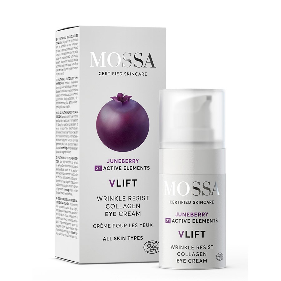 Mossa Eye Cream With Juneberry and 21 Active Elements