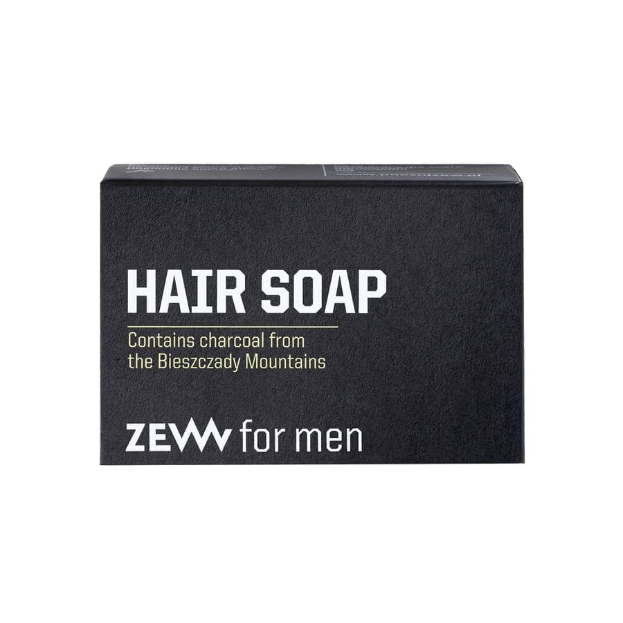 Zew for men Hair SoapwithCharcoal
