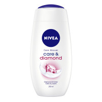 Nivea Gel de Dus Care & Diamond