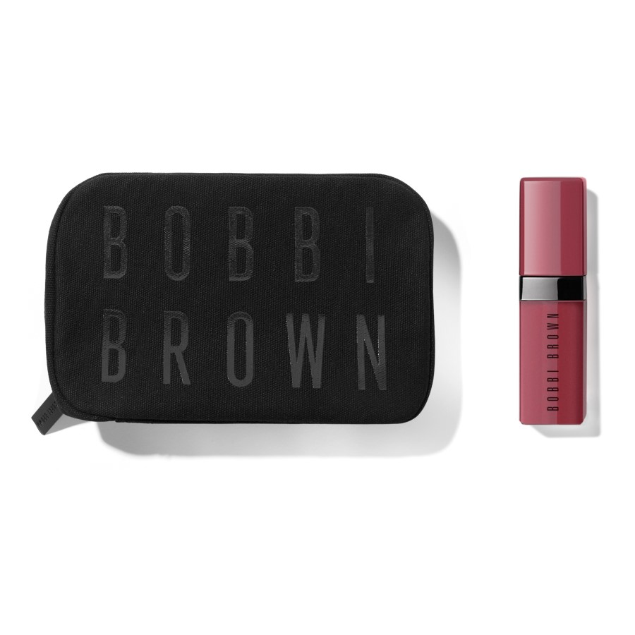 CADOU Pouch si Mini Crushed Liquid Lip Smoothie Move 2 ml (*la achizitii Bobbi Brown de minim 200 Lei)