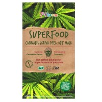7th Heaven Superfood Cannabis Sativa Peel-Off Mask