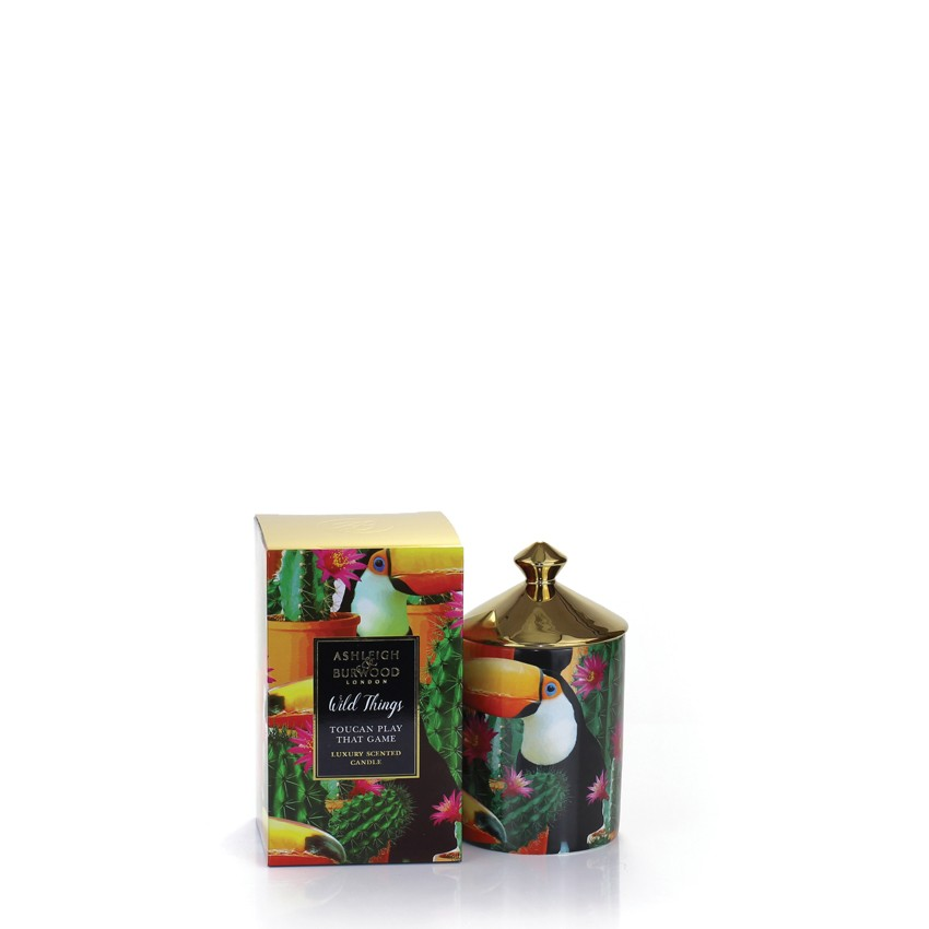 Ashleigh & Burwood Scented Candle Toucan Play That Game Mango & Nectarine