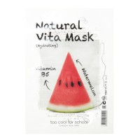 TOO COOL FOR SCHOOL Natural Vita Mask Hydrating B5/Watermelon