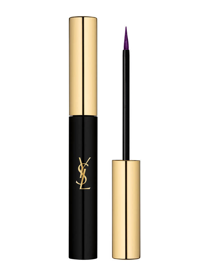 Yves Saint Laurent Couture Liquid Eyeliner Fall Look