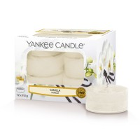 Yankee Candle Set 12 Scented Candles Vanilla
