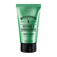 Scottish Fine Soaps Vetiver & Sandalwood Shave Cream
