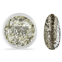 Neo Nail Chrome Flakes Effect