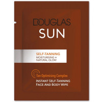 Douglas Sun Self-tanning Face and Body Wipe