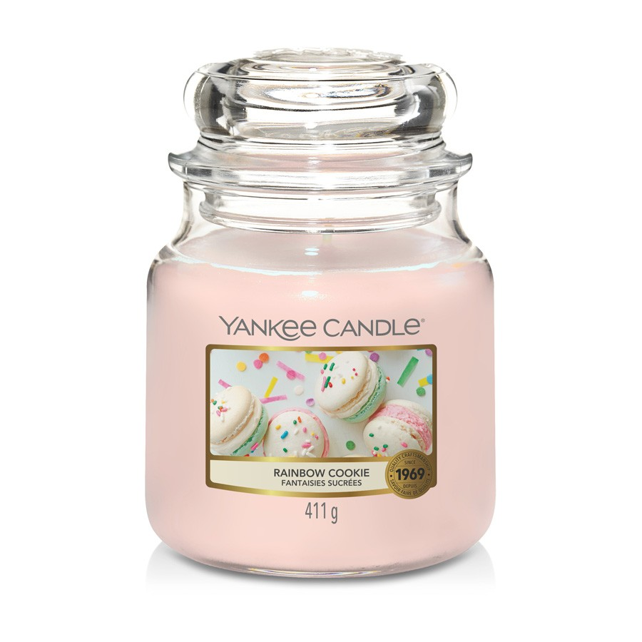 Yankee Candle Candle Jar Rainbow Cookie