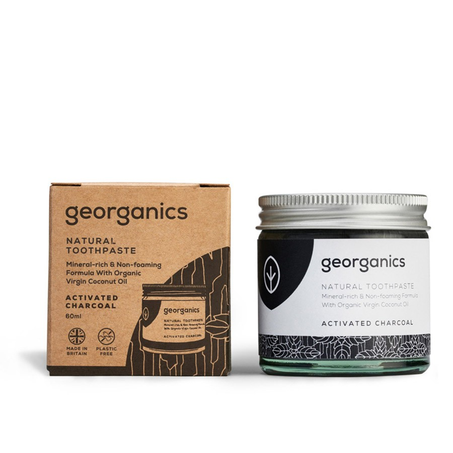 Georganics Mineral Tooth Paste Activated Charcoal
